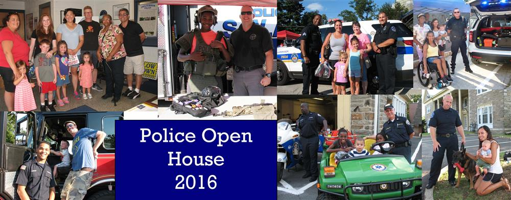 Images from the POlice Open House on July 27, 2016